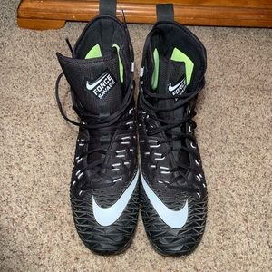 Nike Force Savage Football Cleats - 11W